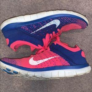 Nike free 4.0 flyknit sneakers